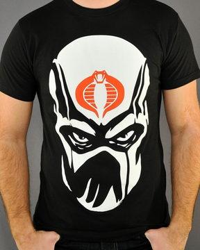 GI Joe Storm Mask T-Shirt Sheer