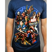 Marvel vs Capcom 3 T Shirt Sheer
