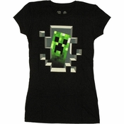 Minecraft Creeper Baby Tee