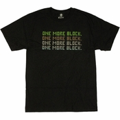 Minecraft One More Block T Shirt