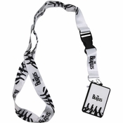 Beatles Simple Abbey Road Charm Lanyard