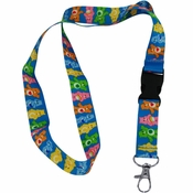 Care Bears Line Up Lanyard