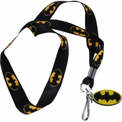 Batman Black Lanyard