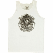 Sons of Anarchy Reaper Crest Tank Top Shirt