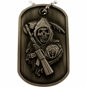 Sons of Anarchy Reaper Dog Tag