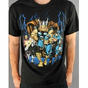Marvel Crowd T Shirt