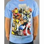 Marvel Heroic Age T Shirt