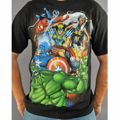 Marvel Group T-Shirt