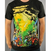 Marvel Forest Battle T-Shirt