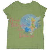 Tinkerbell Flower Petals Girls T-Shirt