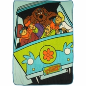 Scooby Doo Mystery Machine Blanket