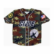 GI Joe Camo Baseball Jersey