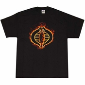 Cobra Flame Logo T-Shirt