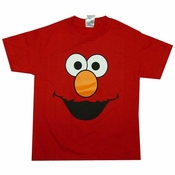 Elmo Face Youth T-Shirt
