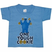 Cookie Monster Tough Cookie Kids T-Shirt