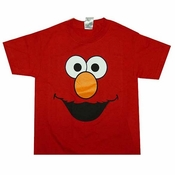 Elmo Face Kids T-Shirt