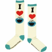 Sesame Street I Love Cookie Monster Socks