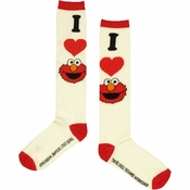 Sesame Street I Love Elmo Socks