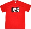 Simpsons Duff T-Shirt