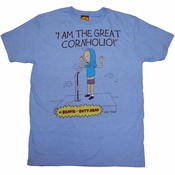 Beavis and Butthead Cornholio T Shirt Sheer