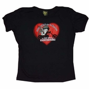 Betty Boop Bad Girls Baby Tee