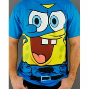 Spongebob Squarepants Cape T Shirt