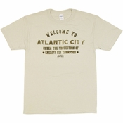 Boardwalk Empire Atlantic City T Shirt