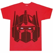 Transformers Optimus Prime T-Shirt Sheer
