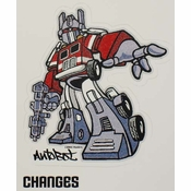 Optimus Sticker