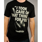 Goodfellas Took Care T Shirt Sheer
