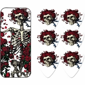 Grateful Dead Skull Roses Guitar Pick Set
