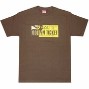 Willy Wonka Golden Ticket T-Shirt Sheer