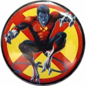 X-Men Nightcrawler Button