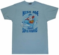 Superman Kiss Me T-Shirt Sheer