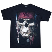 Exile Pirate Skull T-Shirt