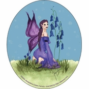 Purple Fairy Sticker