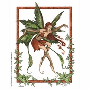 Vine Fairy Sticker