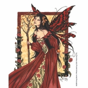 Queen Mab Fairy Sticker
