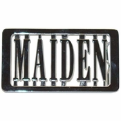 Iron Maiden Belt Buckle