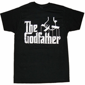Godfather Logo T-Shirt Sheer