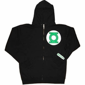 Green Lantern Zipper Hoodies