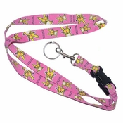 Happy Bunny Throw Up Lanyard