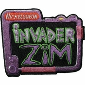 Zim TV Logo Patch