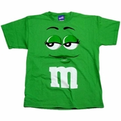 Green M and M T Shirt