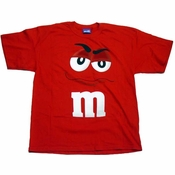 Red M and M T-Shirt