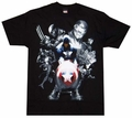Marvel Civil War Soldiers T-Shirt