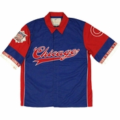 MLB Chicago Cubs Snap Button Shirt