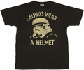 Star Wars Helmet T-Shirt Sheer