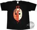 Friday the 13th Vertical Kanji T-Shirt