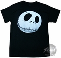 Nightmare Before Christmas Jack Face T-Shirt
